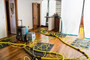 Drying Out A Home Affected By A Major Ceiling Leak